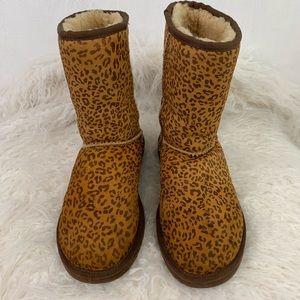 Ugg Leopard Women's Mid-Calf Boots